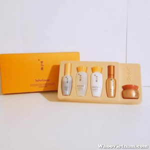 Set kem nhân sâm Sulwhasoo Concentrated Ginseng Renewing Basic Kit 5 Items
