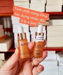 Combo 3 chai tinh chất vàng Ohui The First Cell Revolution Ampoule